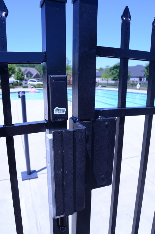 Pool gate mag lock (outdated)