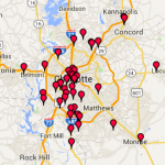 service areas covering charlotte nc and the greater charlotte region
