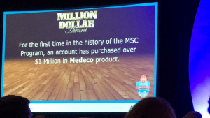 Loc-Doc Security was the first company to purchase over $1 Million in Medeco Products