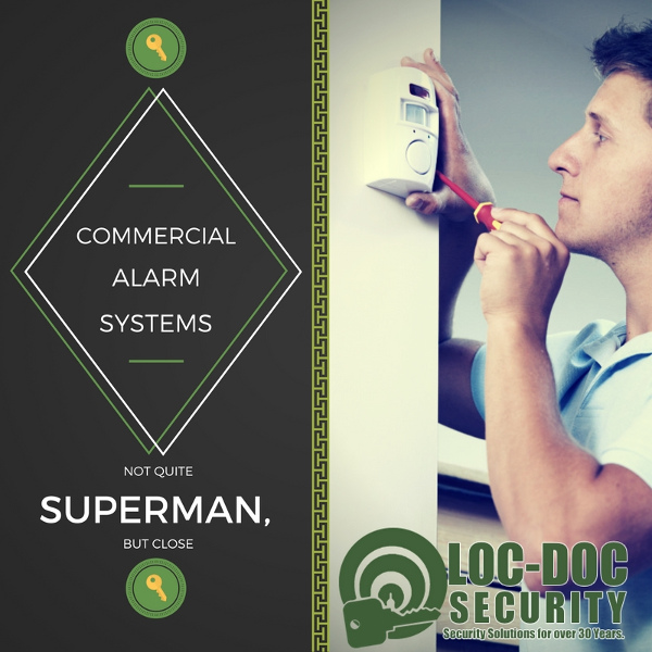 Commercial Alarm Systems: Not Quite Superman, but Close