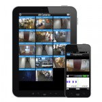 View your camera systems remotely using a tablet or cell phone when you have a cloud based cctv camera system installed