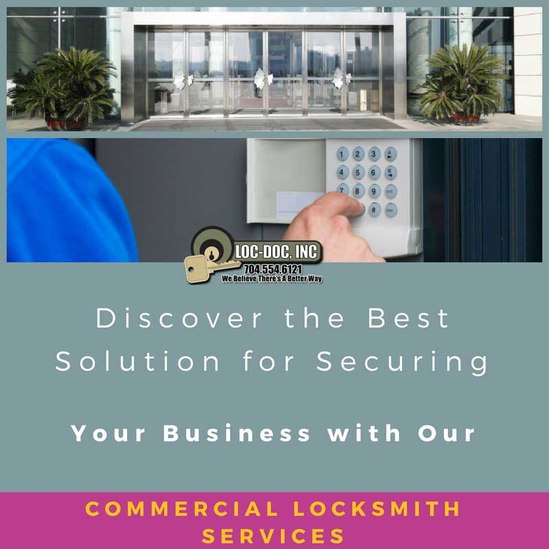 Discover the Best Solution for Securing Your Business with Our Commercial Locksmith Services