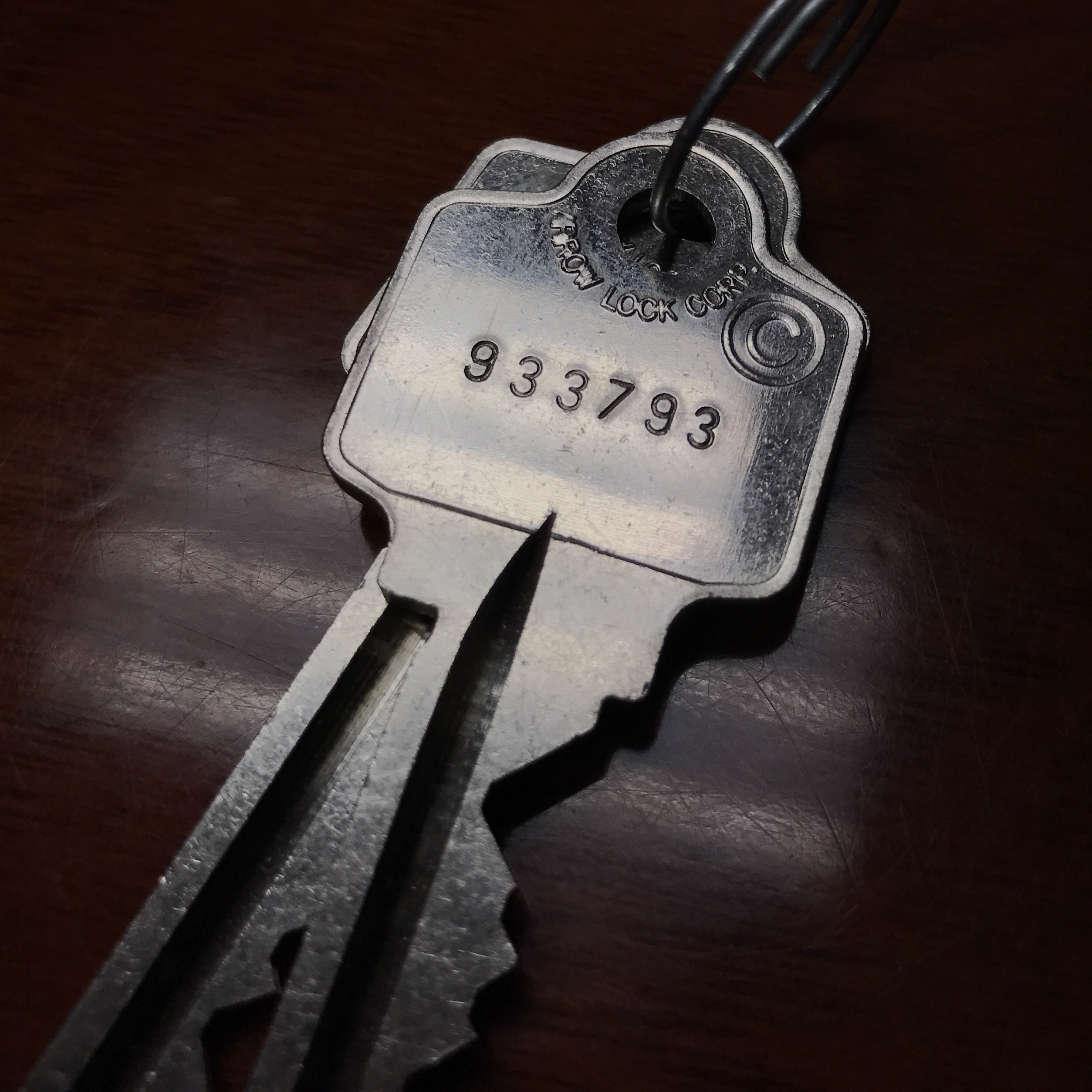 Arrow Lock Corporation Keys Cut to customer code by professional locksmiths