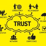 Trust is having consistency, relationships, reliability, commitment, competence, network, value system, sincerity