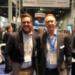 Chad Lingafelt is with Steve Till at Cloud Video Surveillance and Cloud access control conference