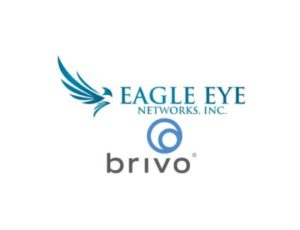 Eagle Eye Networks and Brivo combined logo