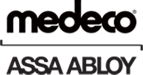 Medeco and Assa Abloy combined logo