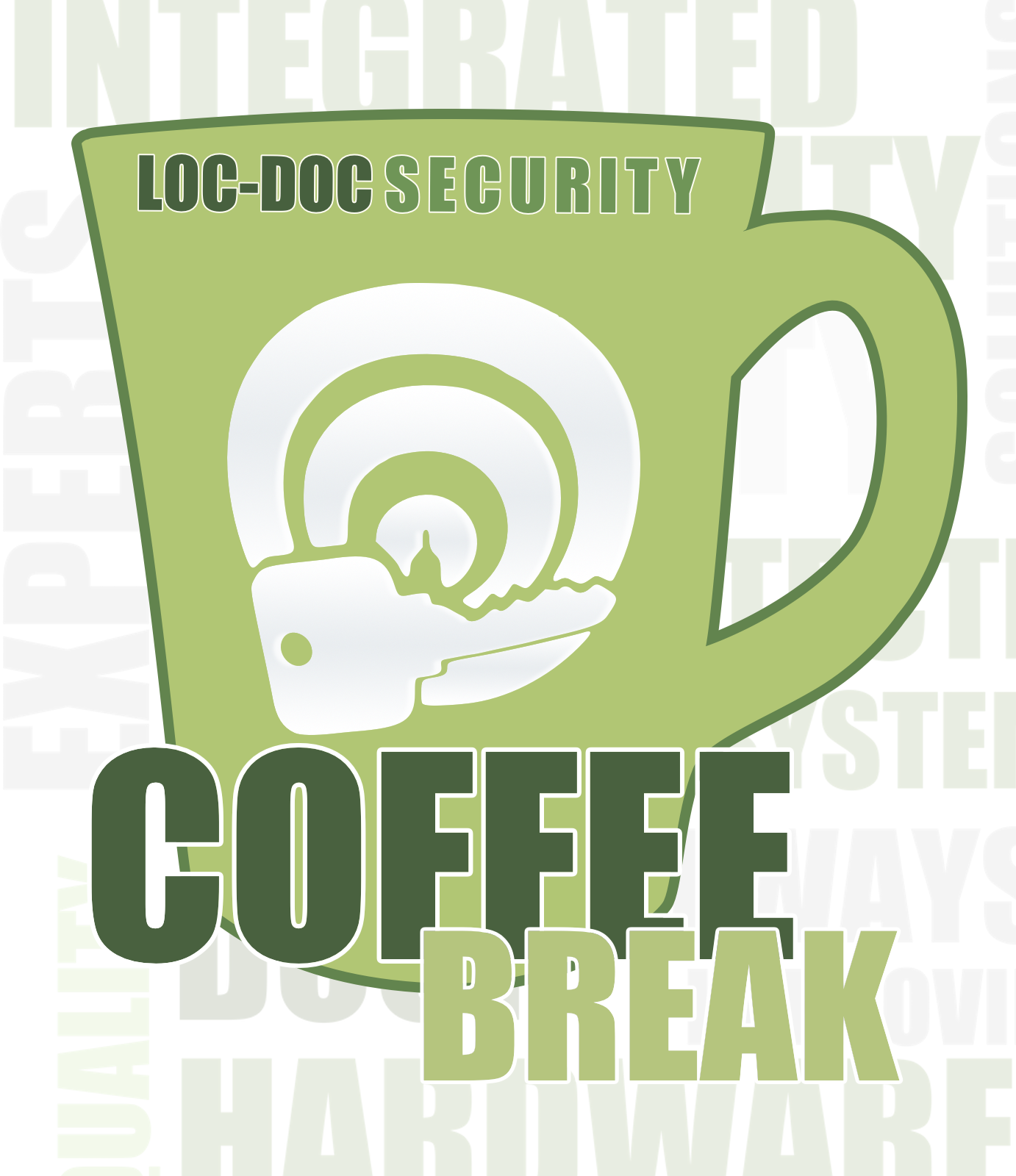 loc-doc security podcast, a locksmith podcast called coffee break podcast